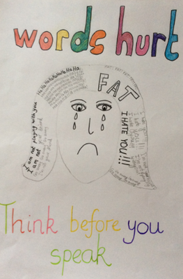pearl class wrote a non chronological report about anti bullying which gives some good advice