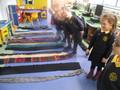 Measuring scarves