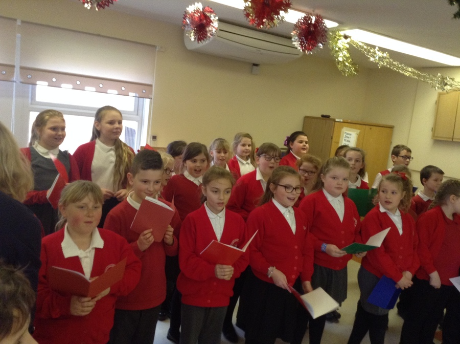 These pictures are taken from the event at The Pheonix Social Club  where our choir sang for parents and staff. Well done to all members of our choir you did an amazing job and sang our school proud.