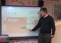 Mr Rowe teaching Science