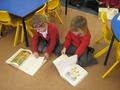 Foundation cildren enjoying reading