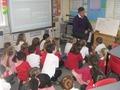 Mr Rowe's class listening.....