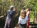 Clearing the Nature Trail with Mrs Collcott