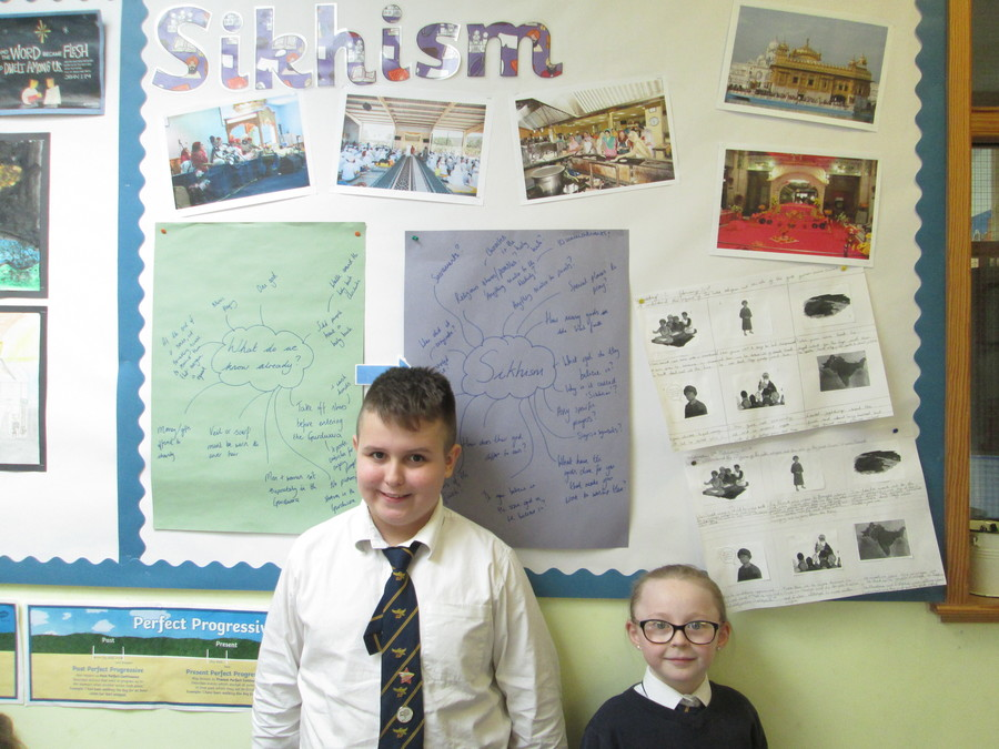 We have really enjoyed learning about another new faith. This term we were learning about Sikhism. We have discovered that there are lots of links with Christianity, particularly the message of, 'love and respect one another'.