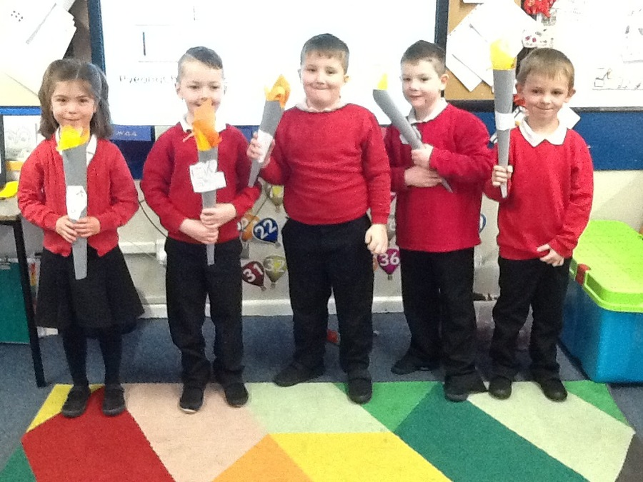 Our Olympic torches!