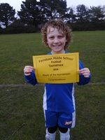 Boys Player of the tournament