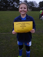 Girls Player of the tournament