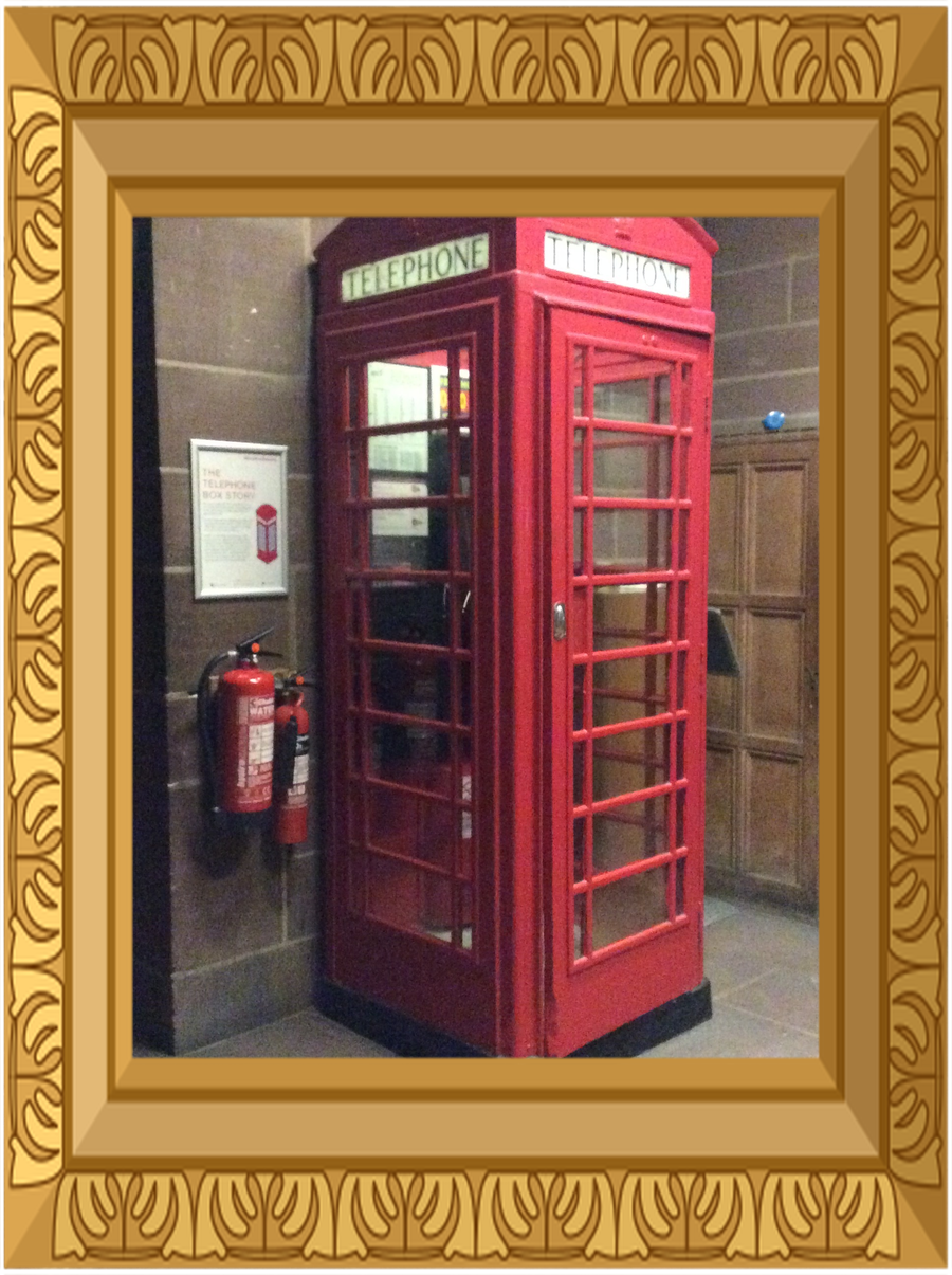 If you are wondering why there is a telephone box in the Anglican Cathedra, ask someone in Year 2!