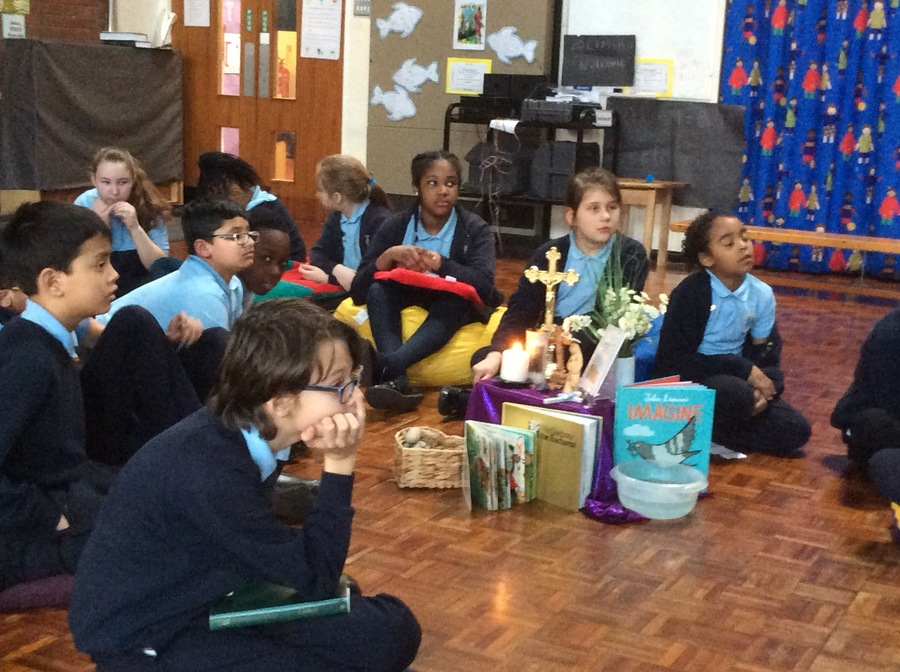 Friday 23rd February: Our class liturgy celebrating Unity