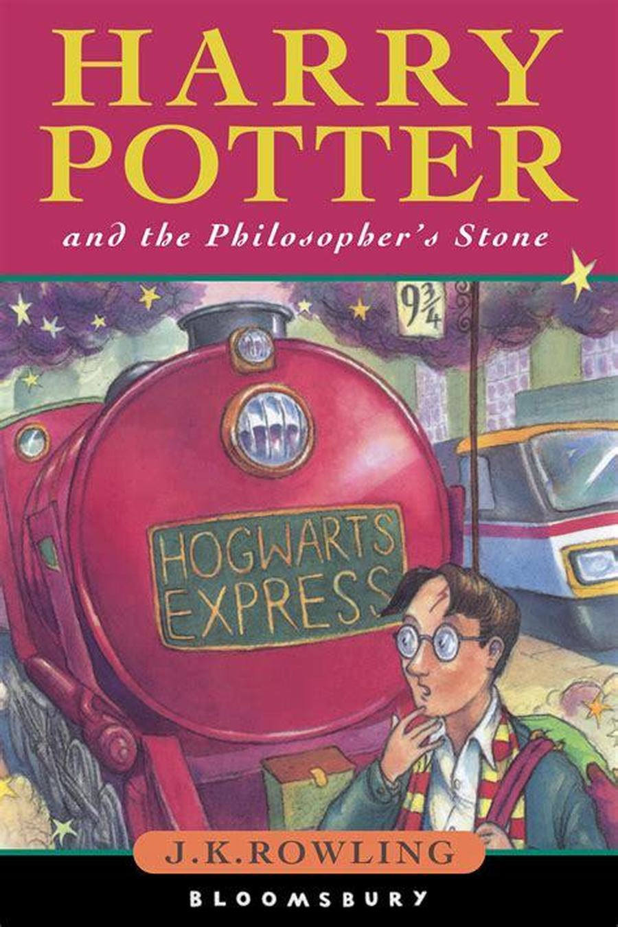 Harry Potter and the Philosopher's Stone - J.K.Rowling
