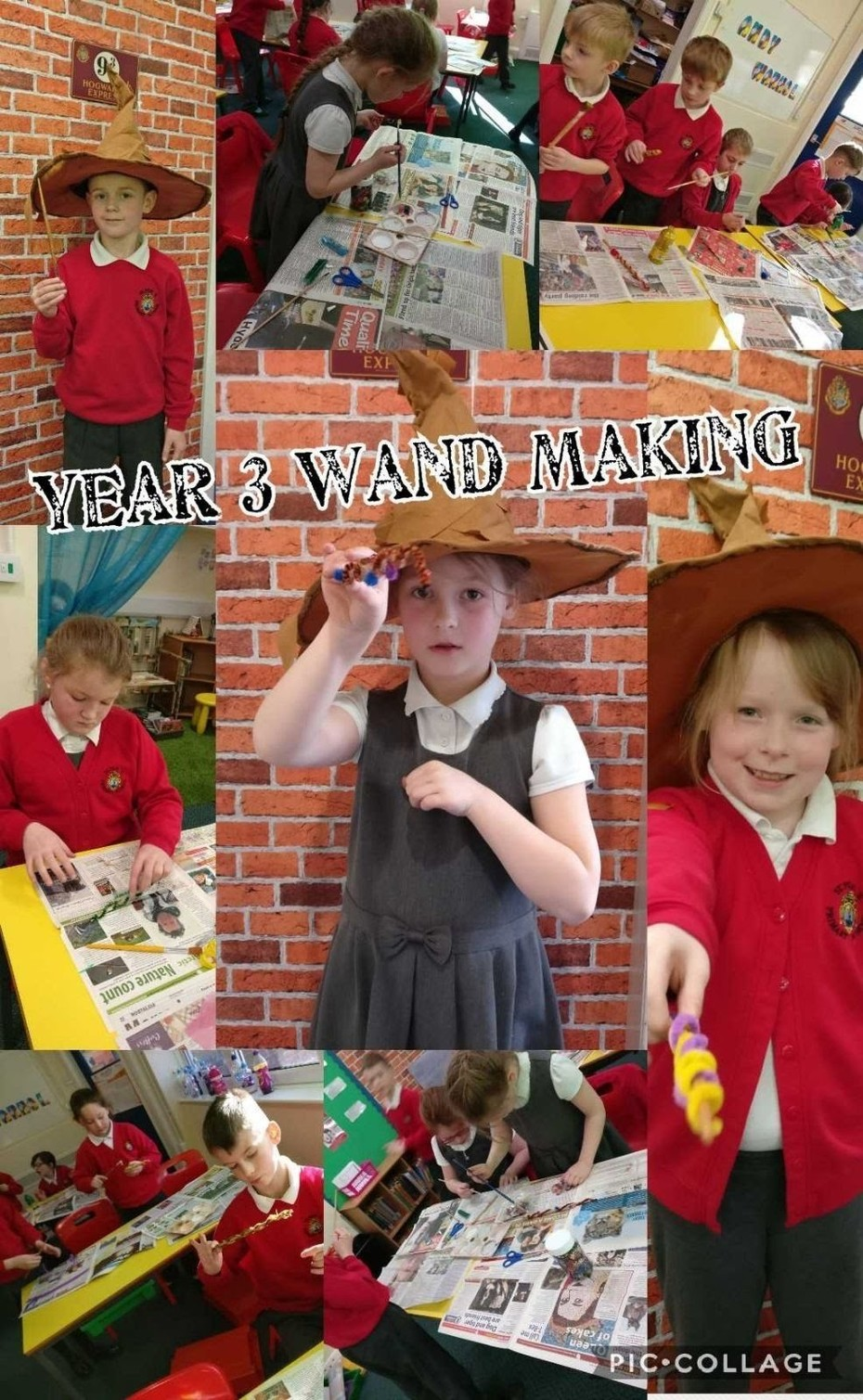 Year 3 Wand Making