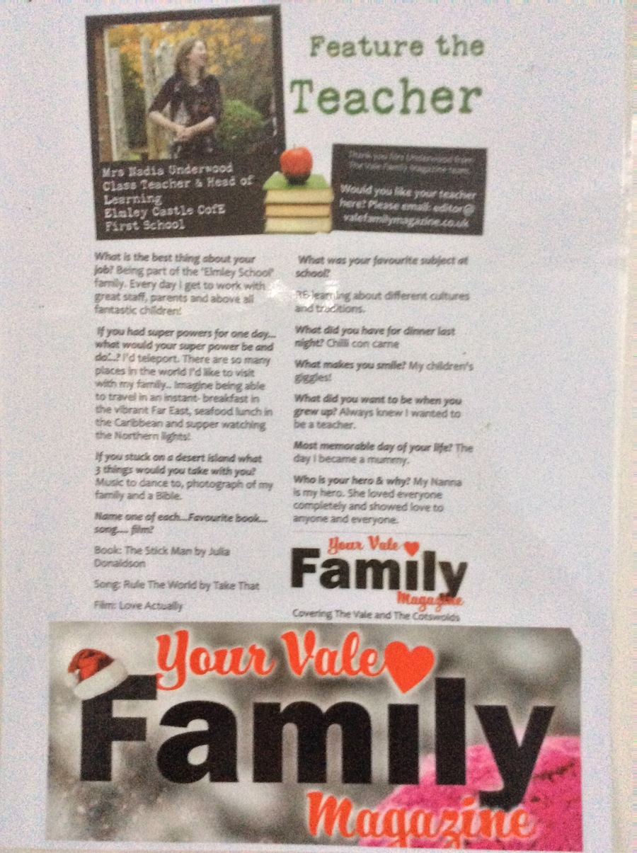 Worcestershire Family Magazine December Edition