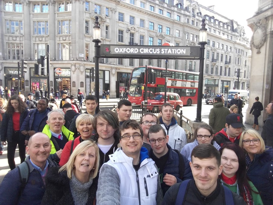 Post 16's Big Day out in London