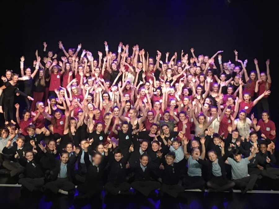 Year 6 had a wonderful time at a recent dance performance at Lord Williams's School
