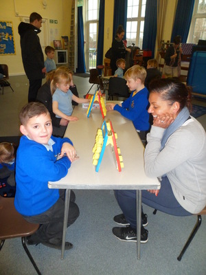 Parents and Carers teach us how to play games
