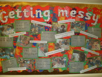 <p>Wonderful writing in Reception </p><p>after a messy day.<br></p>