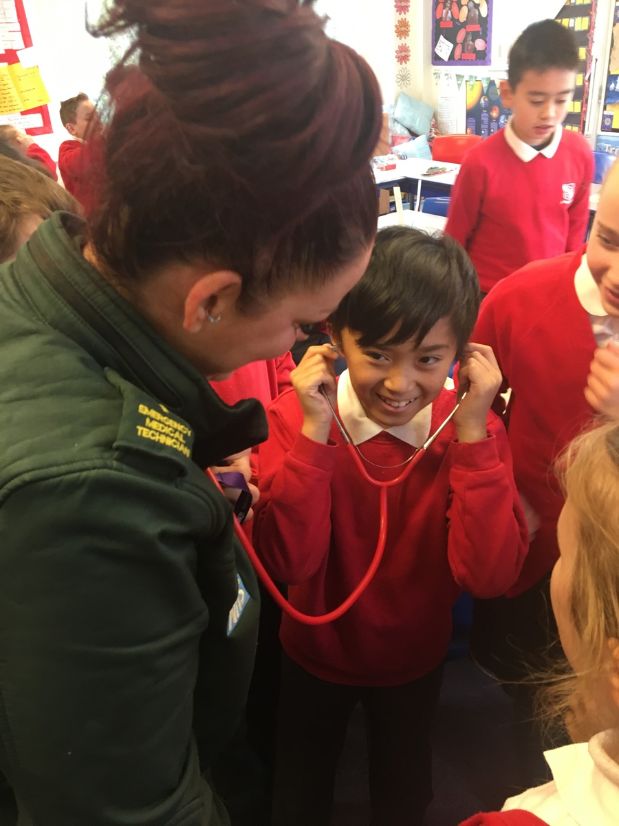 Talk from a paramedic