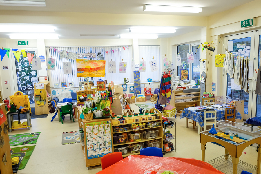 Indoor learning area