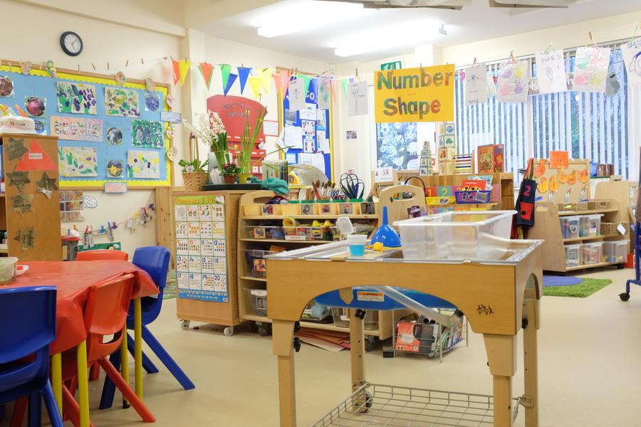 Nursery indoor area