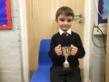 Fin - Challenging himself to improve especially in Maths and for his great sense of humour.