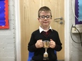 """Hayden - Being """"on the ball"""" with his answers in lessons, especially in Maths.... You are a superstar!"""