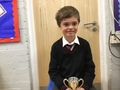 Harvey - Being a sensible and kind Kingfisher who consistently works hard and constantly impresses with the work he produces. Well done Harvey, keep going!