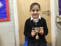 Zeynep - Working hard in all of her lessons and trying to work on her own. She has an excellent smile too!