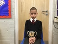 Rian - His positive attitude to learning and for always being prepared to have a go independently.