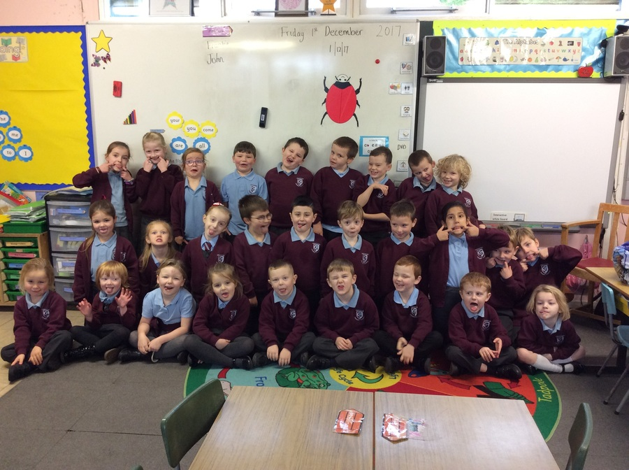 We love learning in P2!  We work really hard...most of the time!