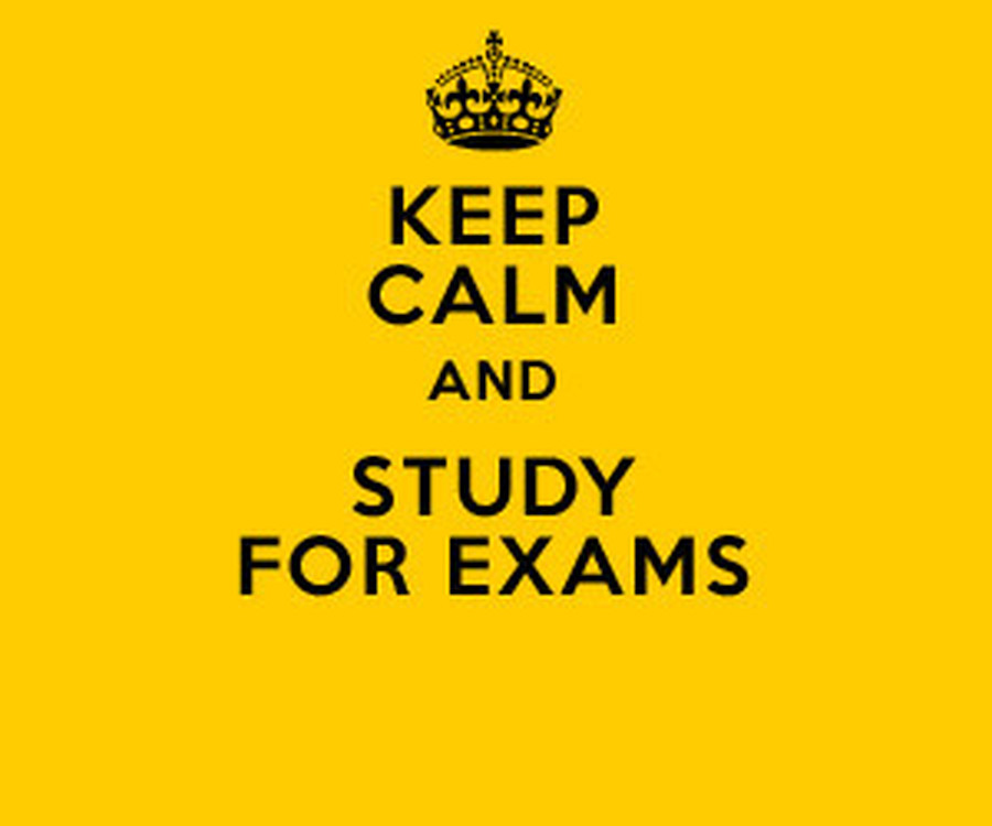 Exams Information 2019