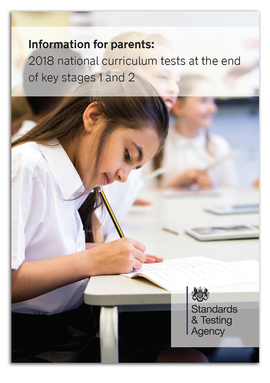 INFORMATION FOR PARENTS ABOUT SATS - download the file.