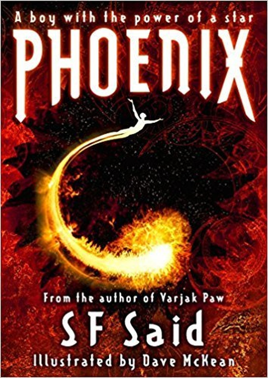 Our new book study book: Phonenix by SF Said