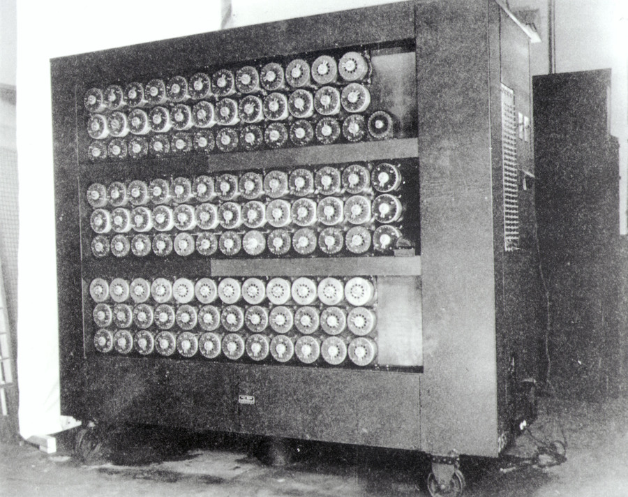 Alan's machine in Bletchley Park