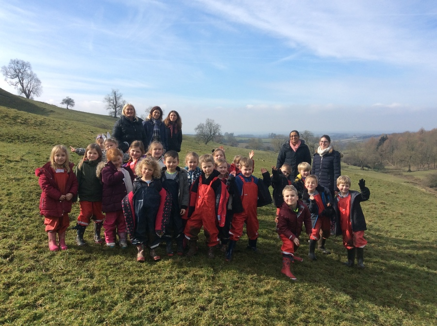 We had a fantastic time on our school trip to Uncleby.  What a beautiful place!