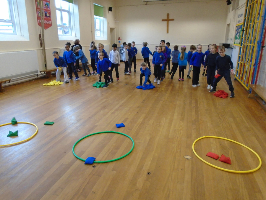 Sport Relief 2018 3 minute daily challenge activity.
