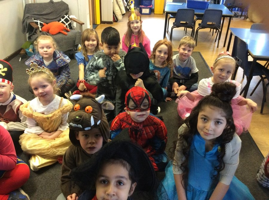 In Spring 2 we also dressed up for World Book Day.