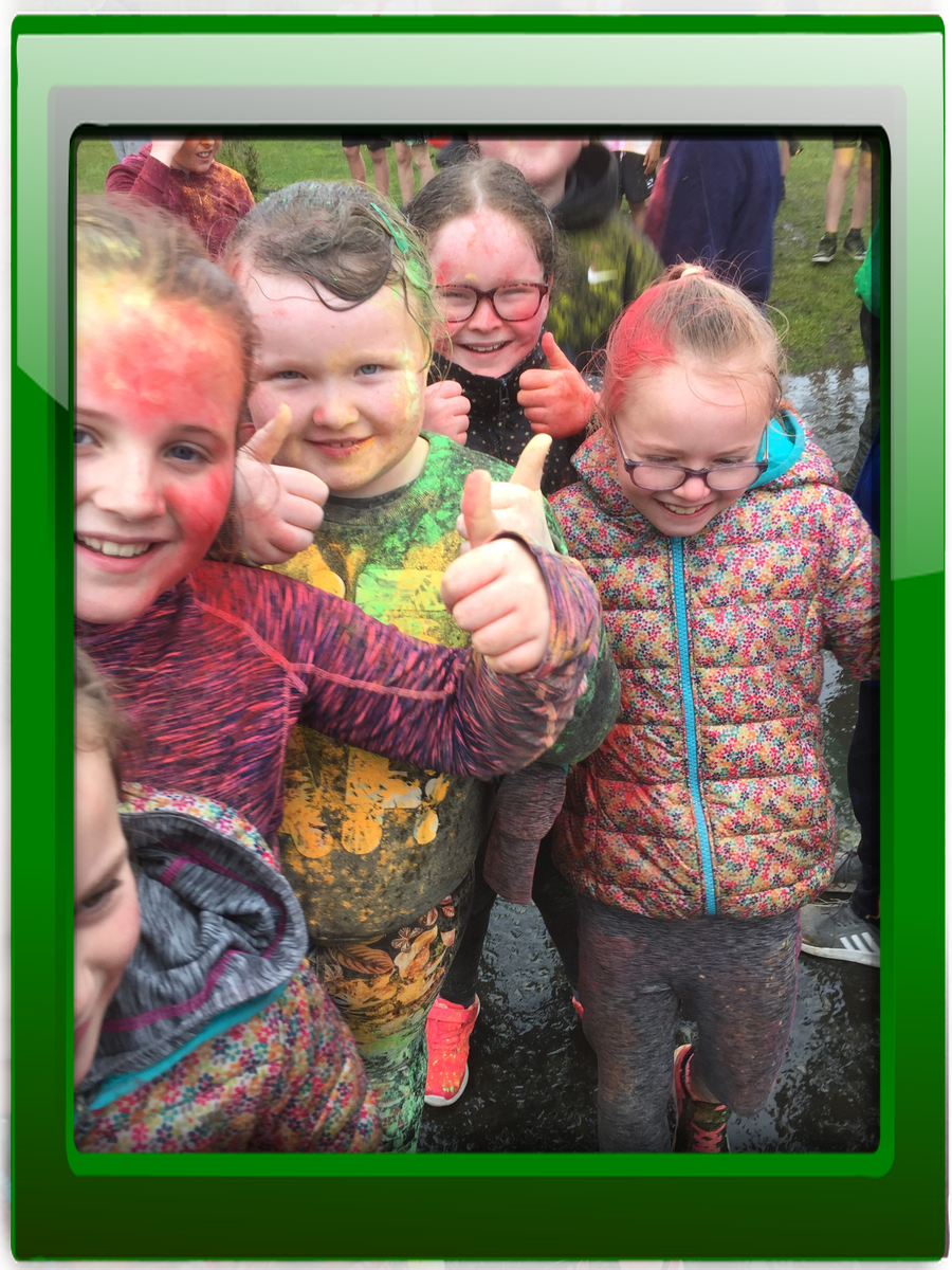We didn't let the rain dampen our spirits in Portadown Park! Well done everyone.