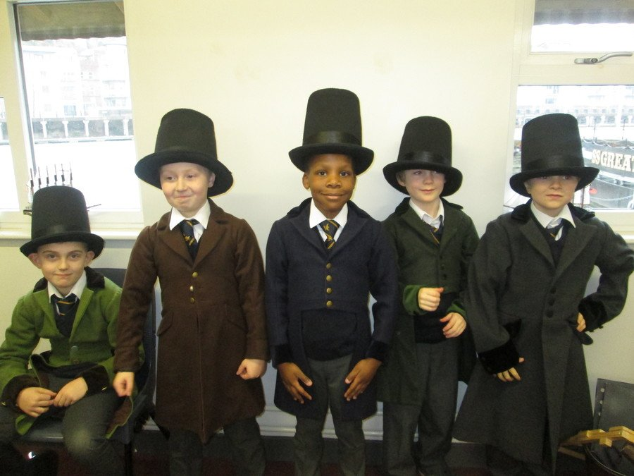 Which one is Isambard Kingdom Brunel?