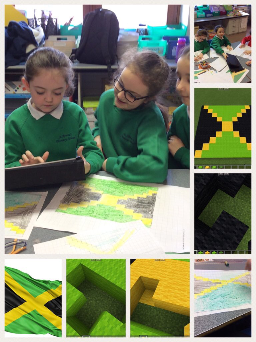 Creating flags from our Commonwealth countries