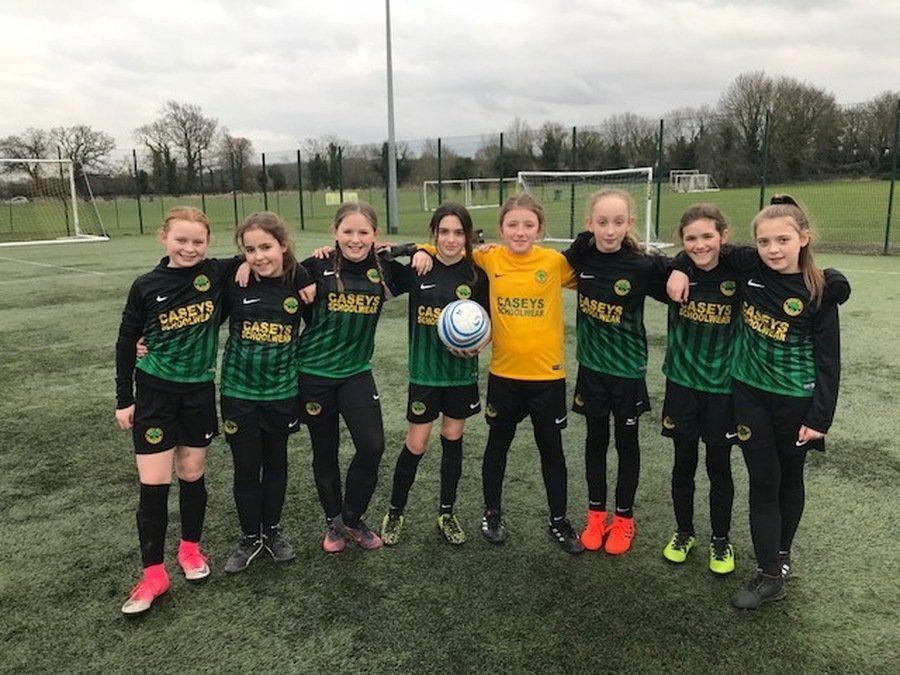 Our Girls Football Team