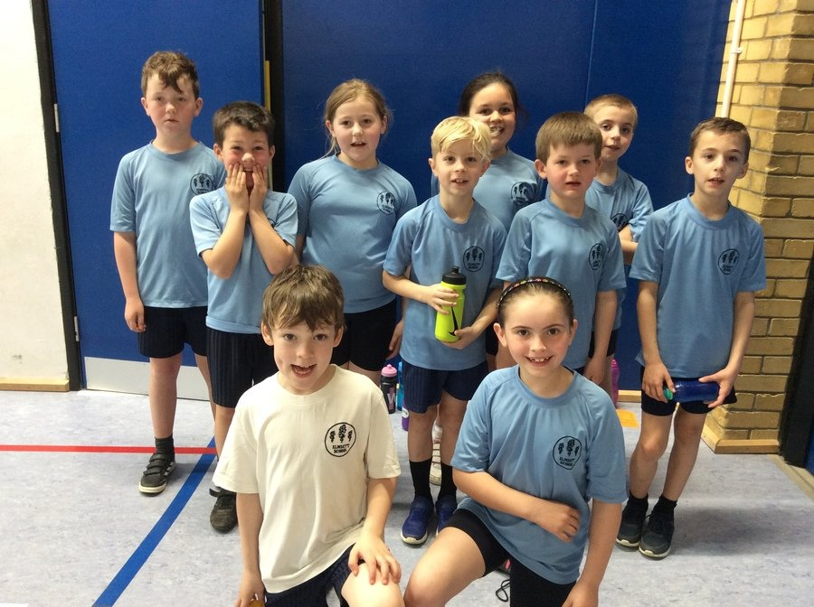 The Badgers had a brilliant time at the U9 Multiskills Competition at HHS with the other feeder primary schools in April 2018.