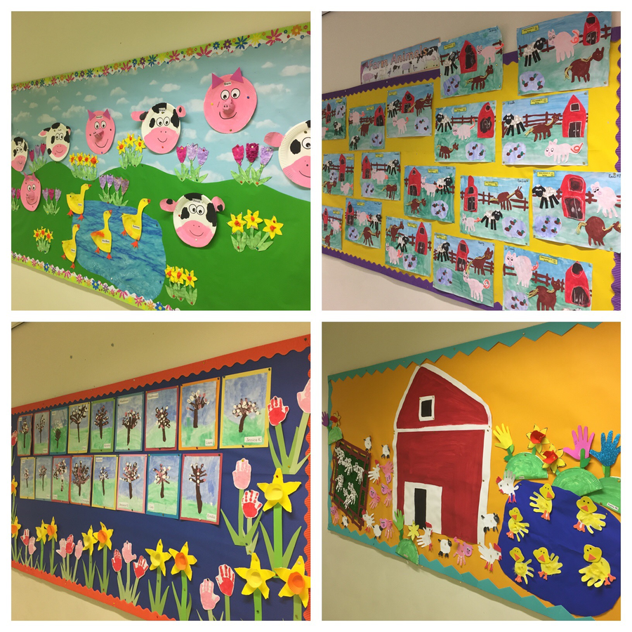 Primary 1 are definitely in a Spring mood!