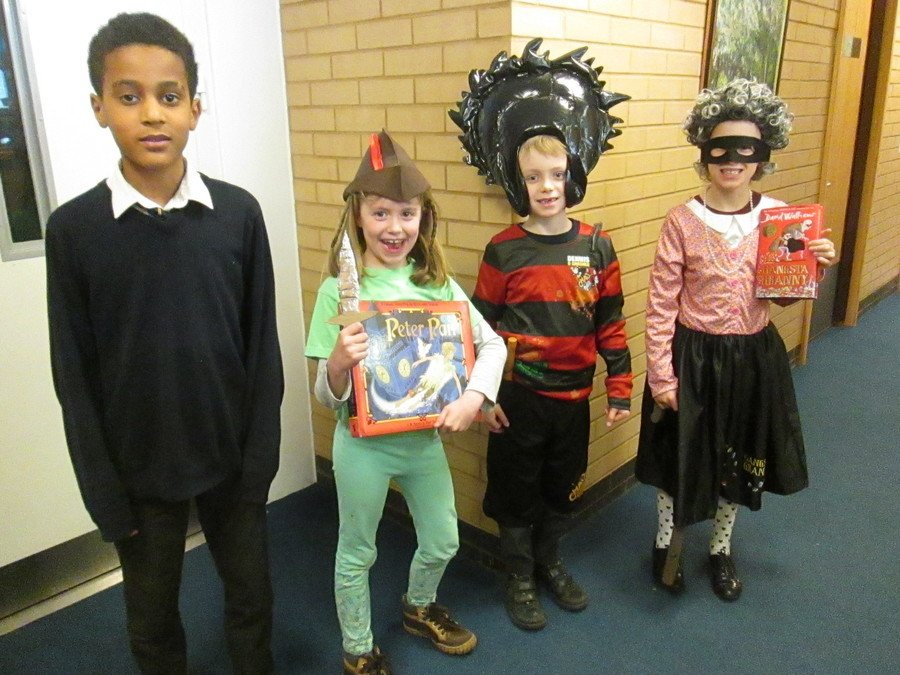 World Book Day - 1st March. We really enjoyed dressing up as a character from our favourite book.