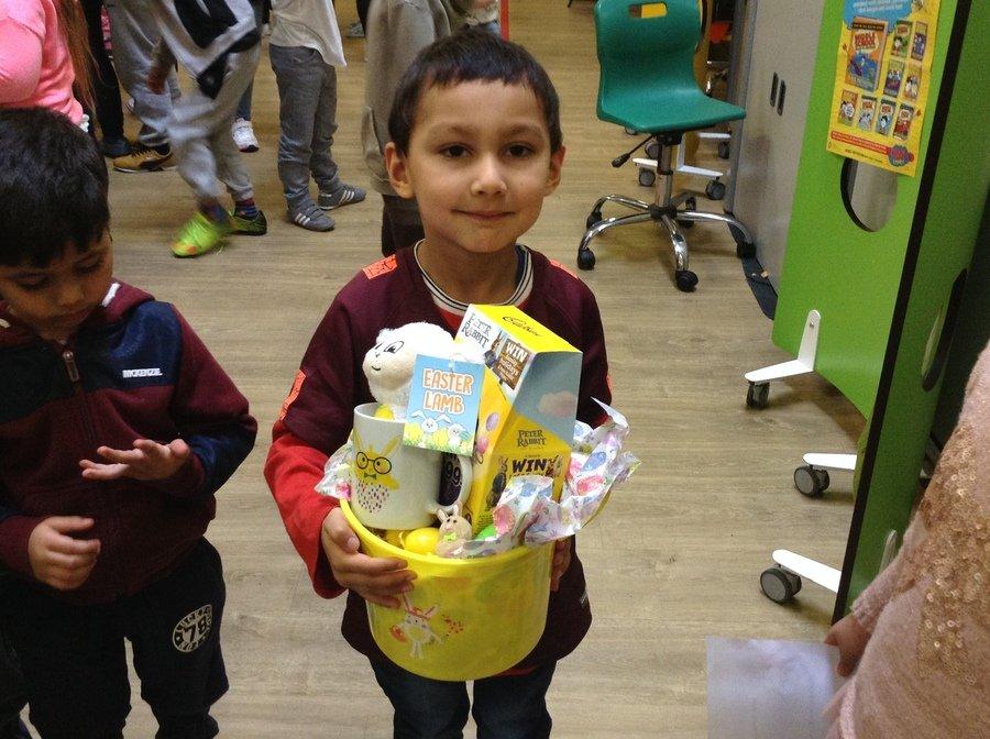 The Easter Hamper Winner!