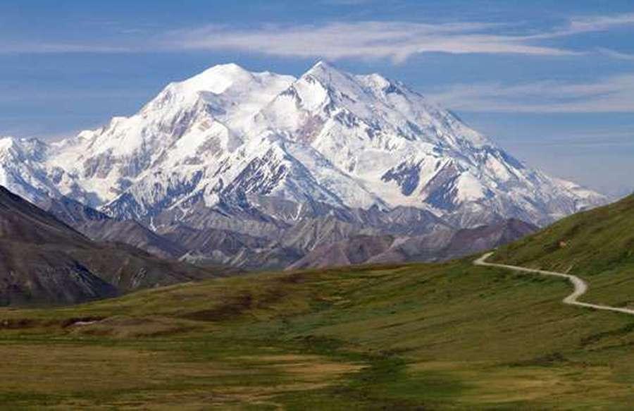 DENALI (FORMERLY MOUNT MCKINLEY) IN ALASKA