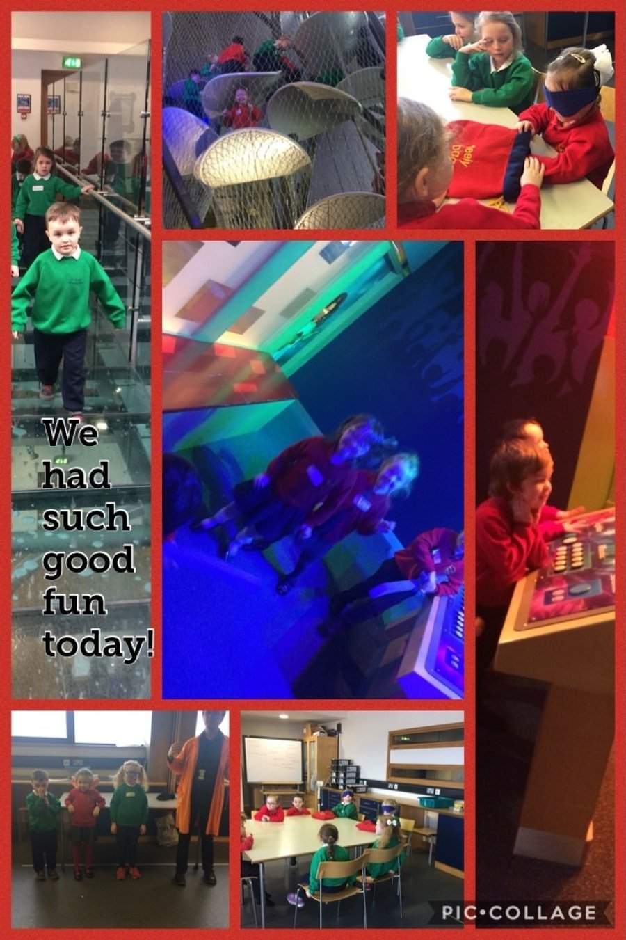 Exploring and having fun in W5