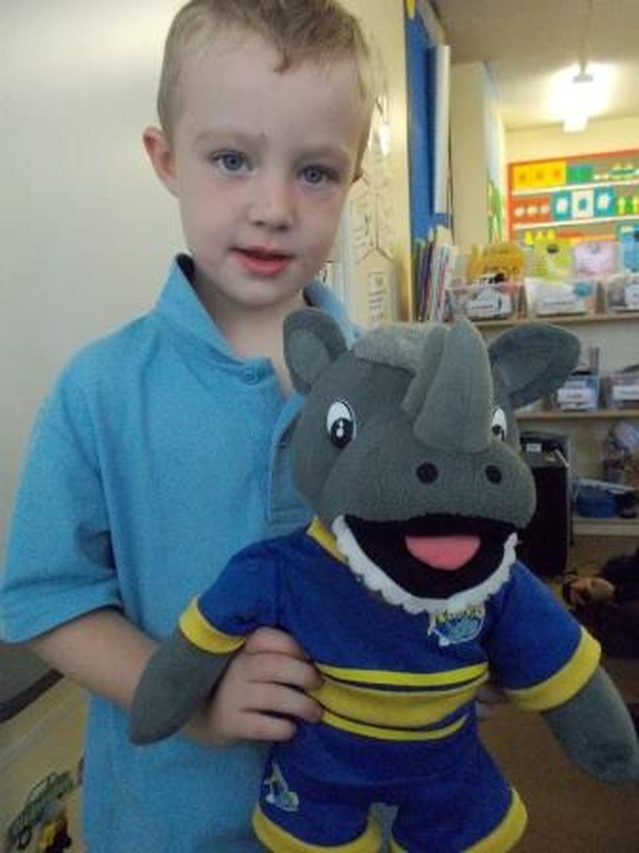 This is the Leeds Rhino, Ronnie.