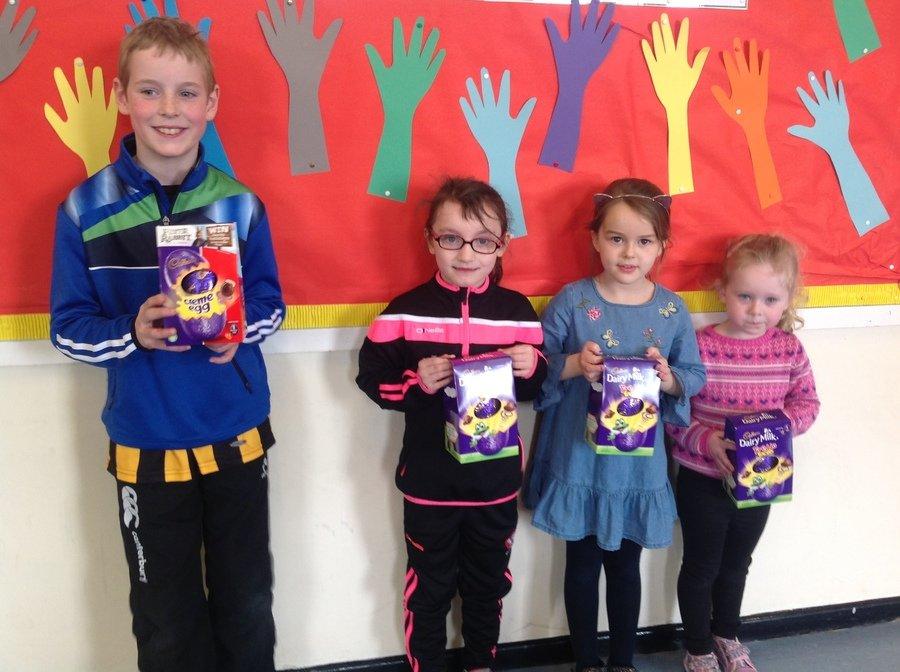 Conor, Caitlin, Naoishe & Eva