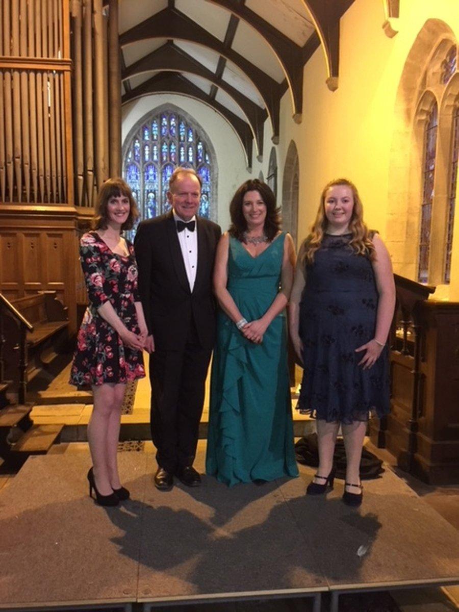 Hannah Clarke, Alasdair Jamieson, Ione Cumming and Niamh Robinson-Wakefield