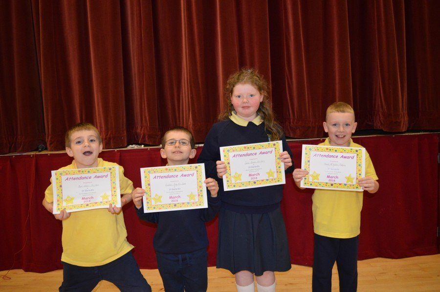 Pupil of the Month & Attendance Awards -March